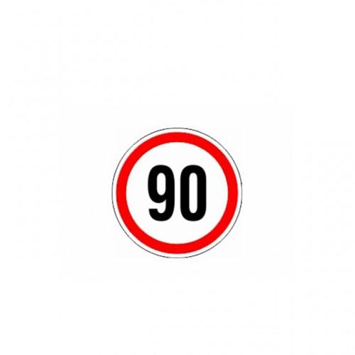 СТИКЕР 90 KM/H
